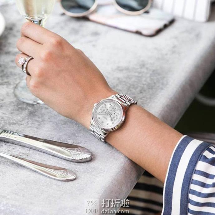 Citizen 西铁城 FD2040-57A 施华洛世奇水晶 三眼女式光动能手表 4.2折7.98 海淘转运关税补贴到手约¥1155