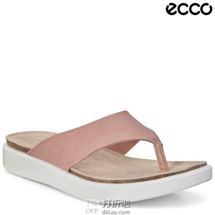 ECCO 爱步 酷型 女式人字拖鞋 凉鞋 271803 37码2.6折$34.05 海淘转运到手约¥294