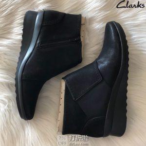 Clarks 其乐 Caddell Rush 女式踝靴 35.5码2折$24.21 海淘转运到手约¥257