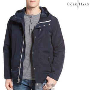 Cole Haan Signature 可汗 男式连帽雨衣夹克 2折$59.99 海淘转运到手约¥471