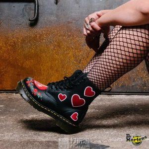 Dr. Martens 1460 Pascal 爱心 女式马丁靴 6.5折$99.99 海淘转运到手约¥805