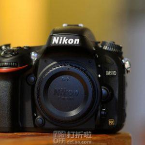 18点开始 Nikon 尼康 D610 单反机身 ¥4799