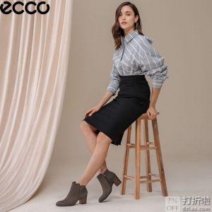 ECCO 爱步 Shape 55 型塑55系列 女式短靴 39码4.7折$70.06 海淘转运到手约¥570