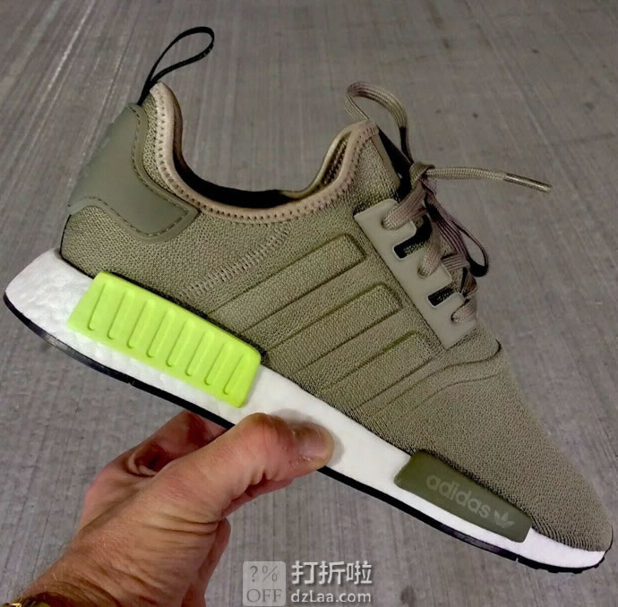 adidas Originals 阿迪达斯 三叶草 NMD_R1 男式经典鞋 运动鞋 36码3.5折$45.53 海淘转运到手约¥402