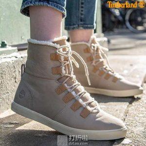Timberland 添柏岚 Dausette 可折叠两穿 女式保暖短靴 5.3折$53.21 海淘转运到手约¥455