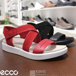 限尺码 ECCO 爱步 Flowt 柔畅 女式凉鞋 2.1折$27.04 两色可选 海淘转运到手约¥245