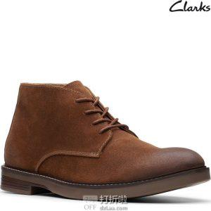 Clarks 其乐 Paulson 男式中帮短靴 2.7折$29.82起 海淘转运到手约¥294