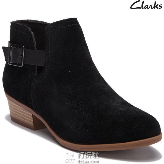 Clark 其乐 addiy carisa 女式踝靴 2.4折$31起 海淘转运到手约¥302