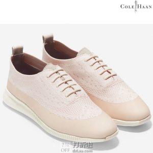 Cole Haan 可汗 2.Zerogrand 针织网面 布洛克风格 女式休闲鞋 39码2.4折$43.11 海淘转运到手约¥385