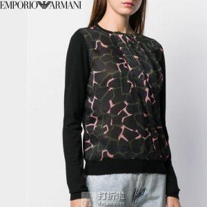 Emporio Armani 阿玛尼 女式印花上衣 1.9折$75.62起 海淘转运到手约¥533