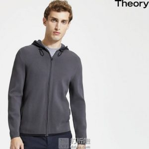 Theory 希尔瑞 Emmerson 男式连帽卫衣 M码3.6折$115.53 海淘转运到手约¥852