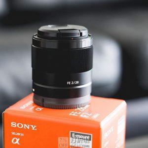 SONY 索尼 FE 28mm F2 广角定焦镜头 6.2折$284.95 海淘转运到手约¥2004