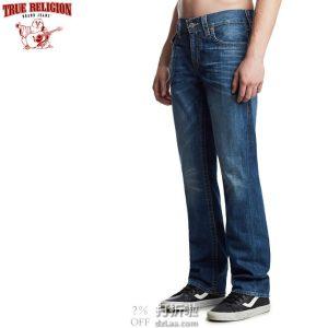 True Religion 真实信仰 Ricky 纯棉 男式直筒牛仔裤 33码2.8折 海淘转运到手约¥427