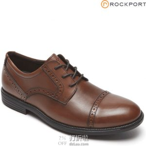 Rockport 乐步 Madson 布洛克风格 男式牛津鞋 44.5码3.1折$38.54 海淘转运到手约¥357