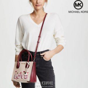Michael Kors 迈克科尔斯 Mercer Love 女式中号手提包 4.5折$112 海淘转运到手约¥828