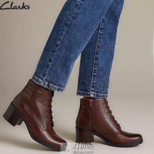 Clark 其乐 Hollis Jasmine 女式短靴 2.6折$33.8起 海淘转运到手约¥354