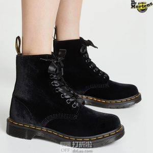 Dr. Martens 1460 Pascal系列 丝绒版 女式马丁靴 8折$99.99 海淘转运到手约¥813