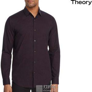 Theory 希尔瑞 Murray 男式格子衬衫 L码2.5折$49.69 海淘转运到手约¥362