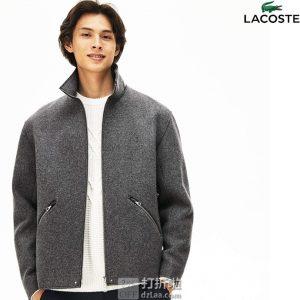 LACOSTE 法国鳄鱼 羊毛呢 男式夹克外套 L码2.4折$52.4 海淘转运到手约¥818