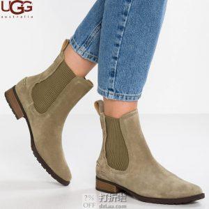 UGG Hillhurst 女式切尔西短靴 37码2.7折$40.8 海淘转运到手约¥371