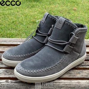 ECCO 爱步 Soft 7 柔酷7号 女式保暖短靴 雪地靴 36码3.5折$63.06 海淘转运到手约¥531