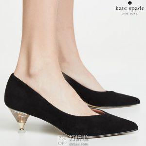 kate spade 凯特·丝蓓 Coco 小羊皮高跟鞋 37码2.6折$71.26 海淘转运到手约¥588