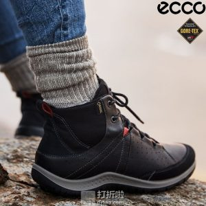ECCO 爱步 Aspina 斯宾娜 牦牛皮 GTX防水 女式高帮徒步靴 37码3.6折$64.68 海淘转运到手约¥660