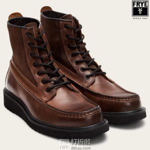 Frye and Co. 弗莱 Montana 男式高帮短靴 2.8折$48 海淘转运到手约¥456