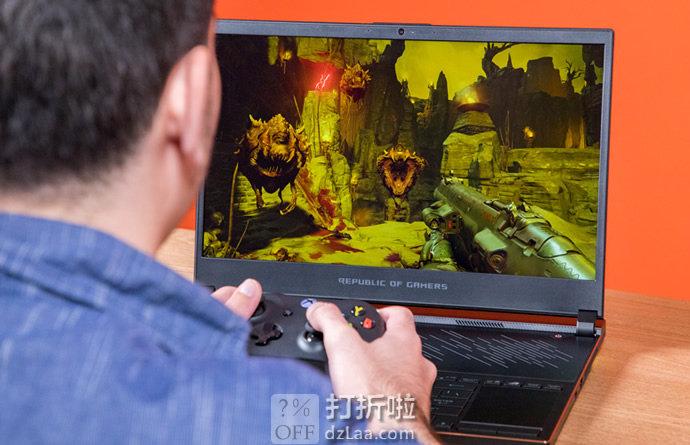 ASUS 华硕 ROG 玩家国度 GX531GW-AH76 15.6英寸游戏笔记本电脑(144HZ 3ms/i7-8750H/RTX 2070 Max Q/16GB)7.7折$1699.99史低  海淘转运到手约¥11989