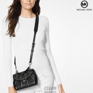 Michael Kors 迈克·科尔斯 Ava系列 MK 铆钉装饰小号手提包 4.4折$107.87 海淘转运到手约¥782