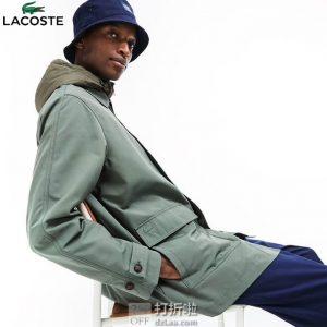 LACOSTE 法国鳄鱼 三合一 男式夹克外套 SH4298 L码2.6折$104.03 海淘转运到手约¥790