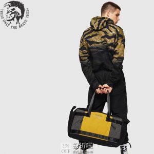 Diesel 迪赛 SOLIGO 男式旅行包 行李包 1.6折$37.3 海淘转运到手约¥348