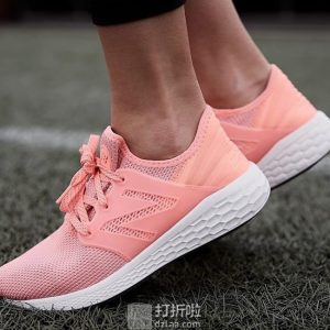 New Balance 新百伦 Fresh Foam Cruz V1 女式休闲跑鞋 6.5加宽码2.5折$19.98 海淘转运到手约¥228