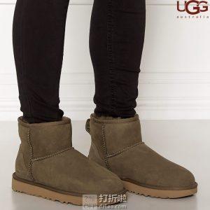UGG Classic Mini II系列 防水防污 经典短款女式雪地靴 36码5折$70 海淘转运到手约¥576
