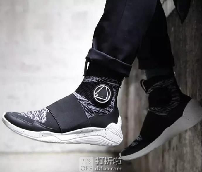 断码 MCQ Alexander McQueen Hikaru 连袜高帮男式运动鞋 2.5折¥824顺丰包邮