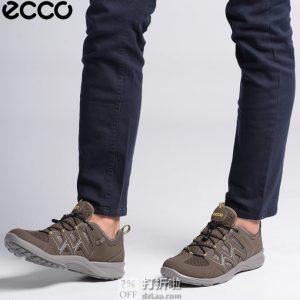 ECCO 爱步 Terracruise Lite 热酷 男式户外低帮徒步鞋 44码4.3折$65.26 海淘转运到手¥546