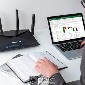 NETGEAR 网件 Nighthawk X10 AD7200 无线路由器 5折$249.99史低 海淘转运到手约¥2017