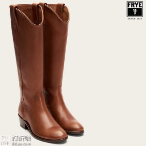 Frye 弗莱 Carson 女式西部长靴 2.4折$85.51 海淘转运到手约¥747