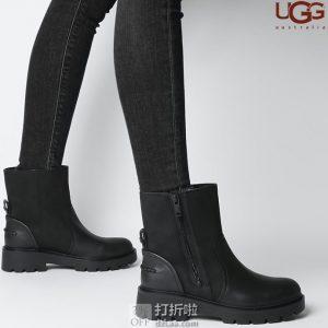 UGG Polk 女式短靴 战斗靴 4折$67.77 海淘转运到手约¥596