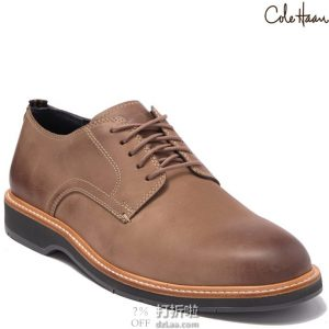 Cole Haan 可汗 Morris 男式牛津鞋 40.5加宽码 2.1折$40.88 海淘转运到手约¥380