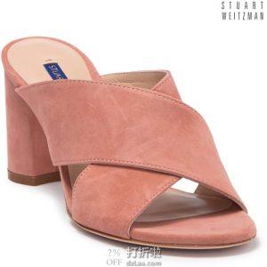 Stuart Weitzman 斯图尔特·韦茨曼 Galene 女式凉鞋 38.5码1.1折$46.3 海淘转运到手¥418