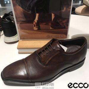 ECCO 爱步 Calcan 系带正装男鞋 牛津鞋 42码2.9折$58.04 海淘转运到手约¥502