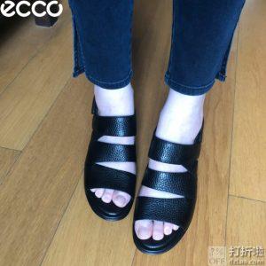 ECCO 爱步 Shape 35 型塑35 女式坡跟凉鞋 3.7折$55.27 海淘转运到手约¥482