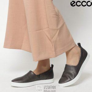 ECCO 爱步 Gillian 吉莉系列 一脚套 女式休闲鞋 38码3.3折$46.71 海淘转运到手约 ¥421