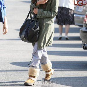 UGG Sundance Vibram外底 防水女式高筒靴 36码2.4折$60.25 海淘转运到手约¥576