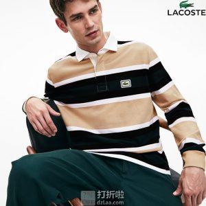 限尺码 Lacoste 法国鳄鱼 KH8633 男式长袖POLO衫 4.5折$51.6 海淘转运到手约¥382 天猫¥1090