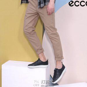 ECCO 爱步 SOFT 8 柔酷8号 三魔术贴 男式低帮板鞋 44码5.2折$88.41 海淘转运到手约¥717
