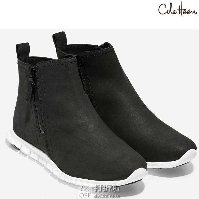 Cole Haan 可汗 Zerogrand 防水 女式踝靴 3.3折$49.93 海淘转运到手约¥444