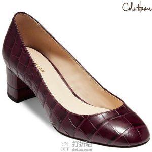 Cole Haan 可汗 Lesli 女式粗跟单鞋 高跟鞋 35.5码2.3折$33.76 海淘转运到手约¥329