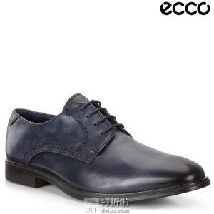 ECCO 爱步 Melbourne 墨本系列 男式德比鞋 正装鞋 44码4.4折$66.61 海淘转运到手约¥562